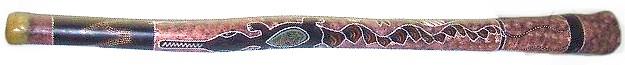 didgeridoo décoré